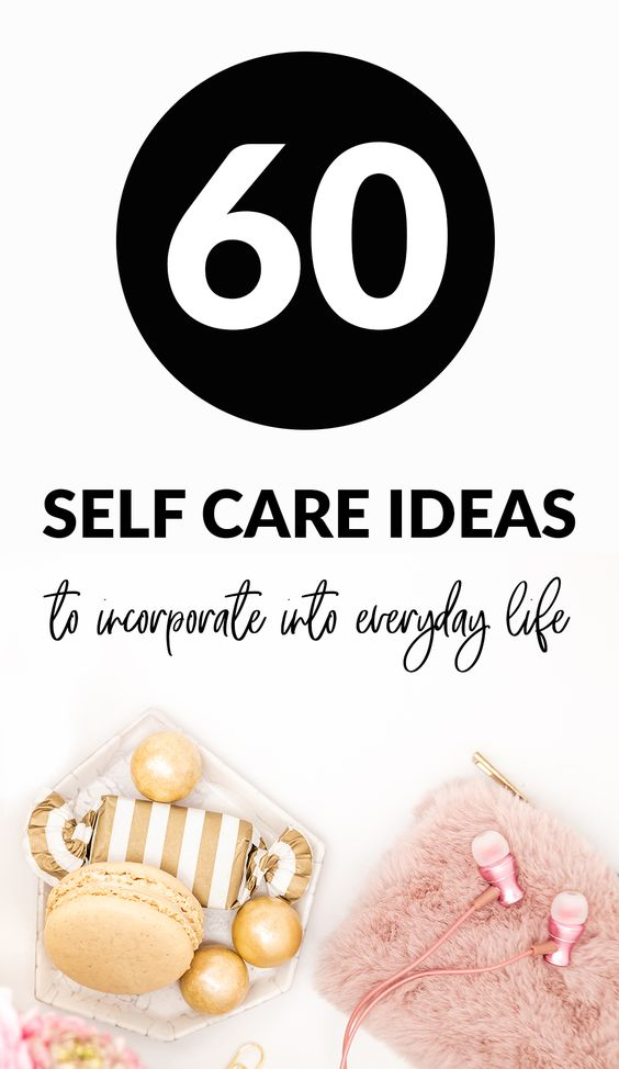 practice self-care every day