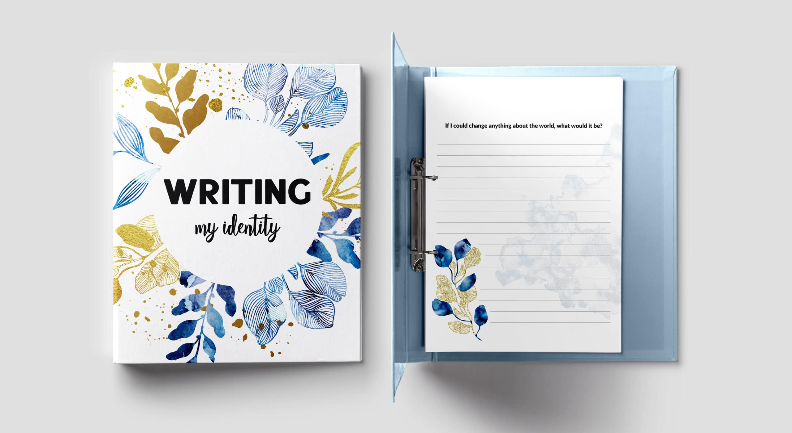 FREE Writing My Identity Journal
