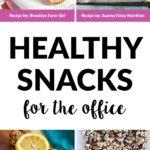 energy balls, apple chips, fruit and nut bars