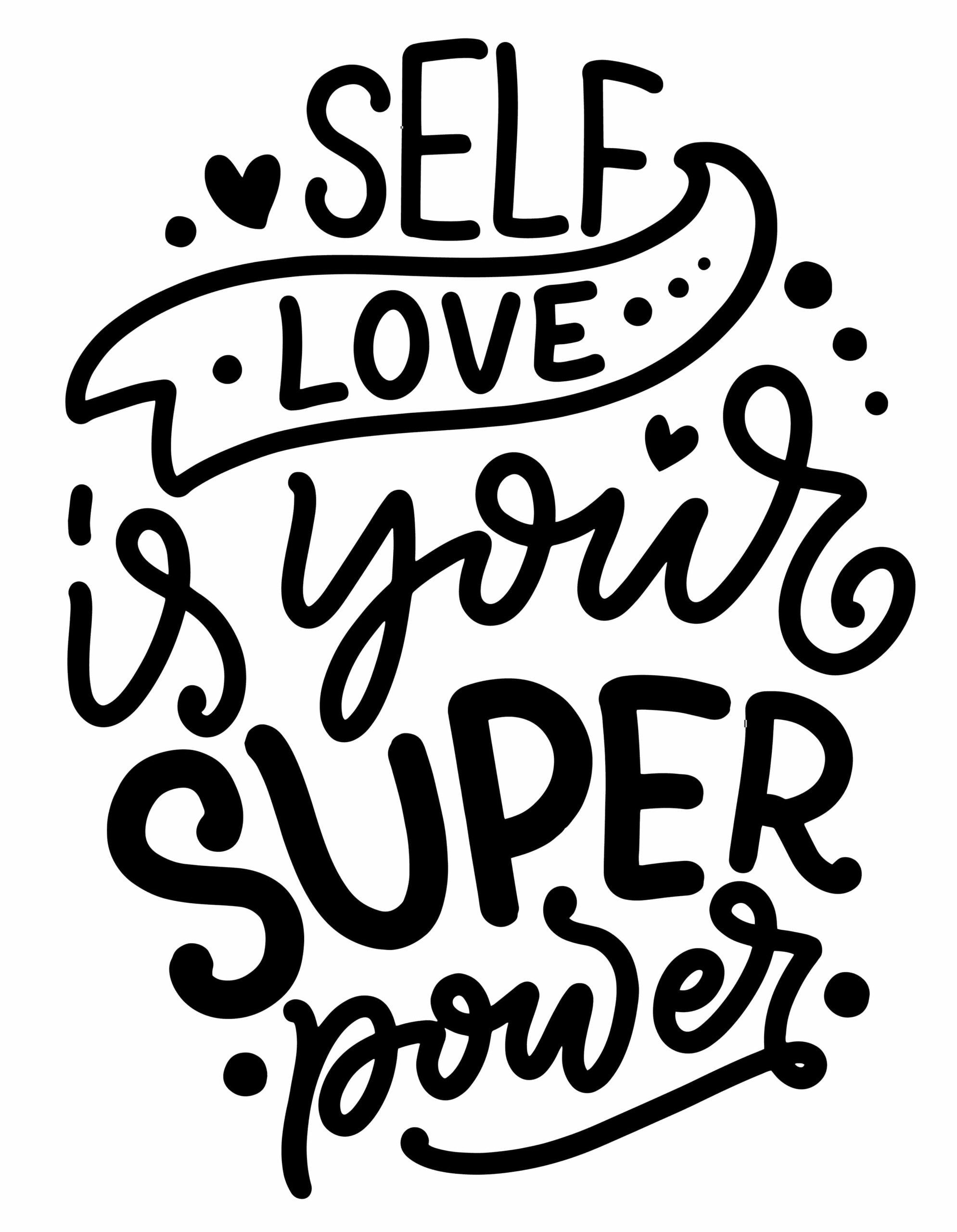 self-love graphic
