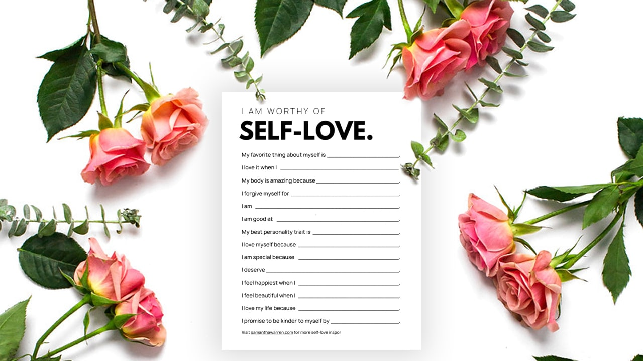 write yourself a love letter