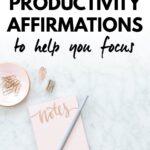 productivity affirmations
