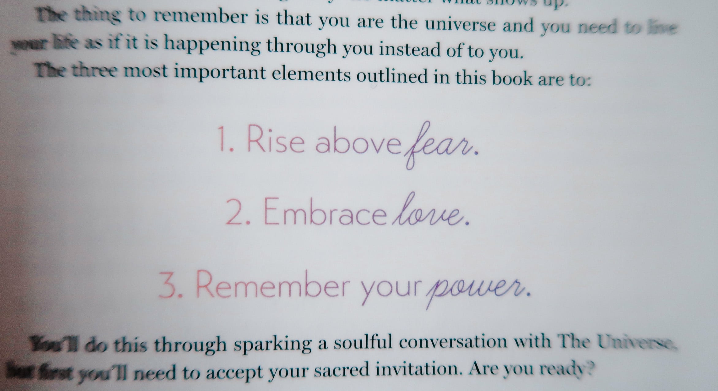 rise above fear
