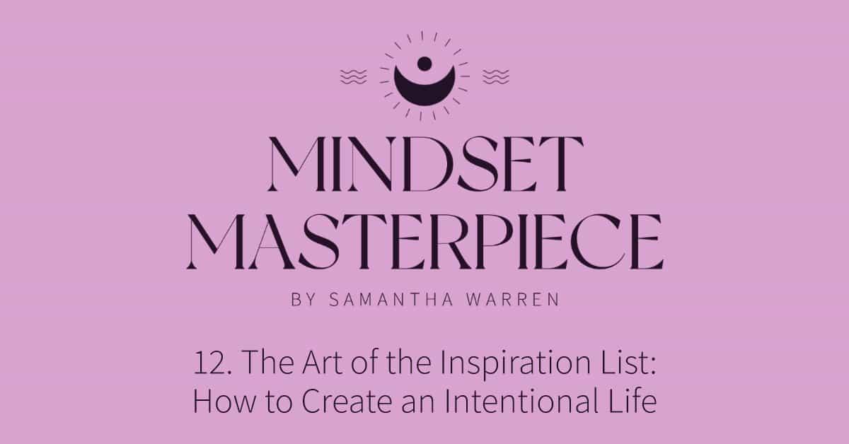 inspiration list